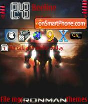Скриншот темы Ironman