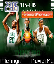 Celtics 2008 theme screenshot
