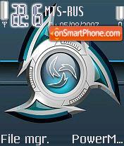 Hasni Diamond theme screenshot