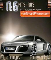 Audi R8 01 es el tema de pantalla
