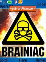 Brainiac theme screenshot
