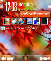Autumn Vista theme screenshot