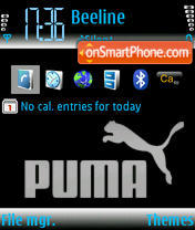 Puma 3250 theme screenshot