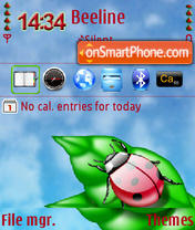 Bug's QVGA theme screenshot