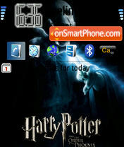 Harry Potter and the order of the Phoenix theme screenshot