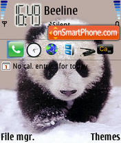 Panda 01 es el tema de pantalla