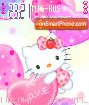 Animated Kitty 01 theme screenshot