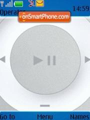 Ipod Shuffle 2nd Gen theme screenshot