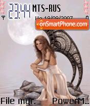 Moon Fairy 01 theme screenshot