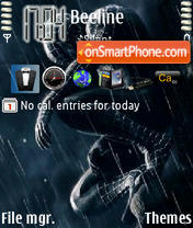 Spiderman 3 tema screenshot