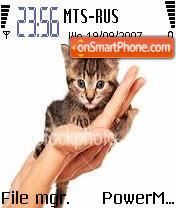 Kitty 01 es el tema de pantalla