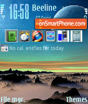 Satelite theme screenshot