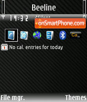 Original theme screenshot