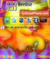 Acid Women theme screenshot