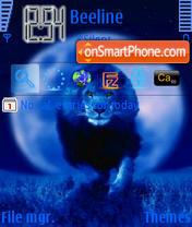 Lion 05 es el tema de pantalla