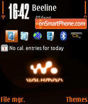 Walkman 01 theme screenshot