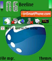Megafon theme screenshot
