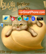 The Cat theme screenshot
