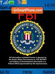 Fbi Theme theme screenshot