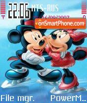 Mickeyminnie theme screenshot