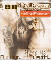 Children of Bodom Hateme es el tema de pantalla