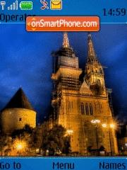 Cathedral In Zagreb theme screenshot