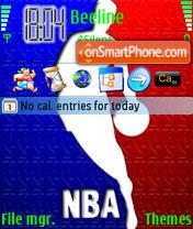 NBA 01 es el tema de pantalla