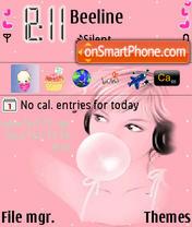 Скриншот темы Gum