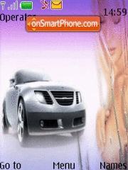 Girl And Car 07 tema screenshot