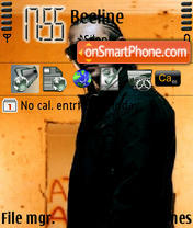 Sean Paul theme screenshot