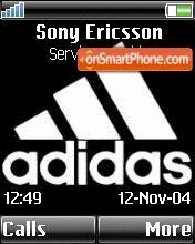 Adidas 09 theme screenshot