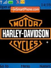 Harley Davidson 01 theme screenshot