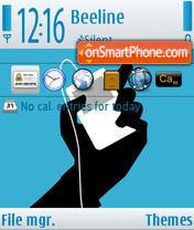 Скриншот темы iTunes 01