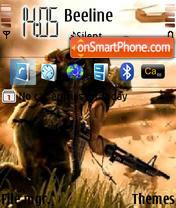 BattleField theme screenshot