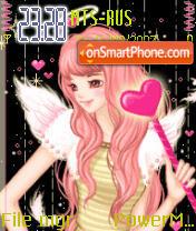 Animated Fairy es el tema de pantalla