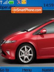 Honda Civic 01 theme screenshot