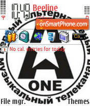 A-One theme screenshot