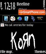 Korn 04 tema screenshot