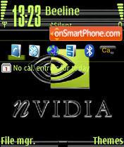 Скриншот темы Nvidia 01