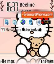 Hello Kitty 05 es el tema de pantalla