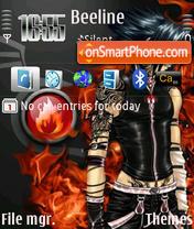 Seraphim Angel theme screenshot