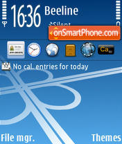 Roads SVQ theme screenshot