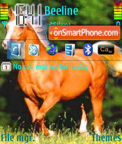 Horses theme screenshot