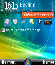 Vista Theme Os 9.1 Theme-Screenshot