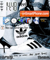 Adidas 11 theme screenshot