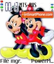 Minnie Loves Mickey es el tema de pantalla