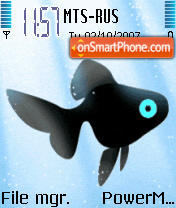 Animated Fish es el tema de pantalla