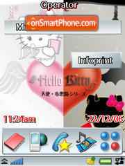 A&D Kitty theme screenshot