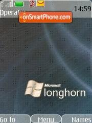 Longhorn Grey tema screenshot