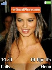 Adriana Lima 24 es el tema de pantalla